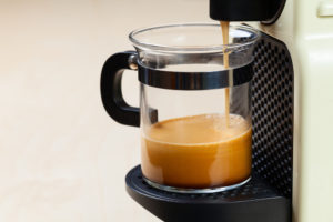 Single-serving coffee machine
